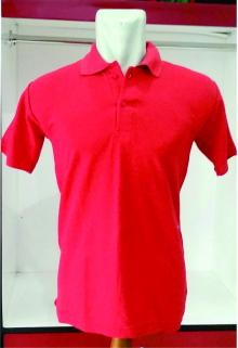 POLO SHIRT lacoste cotton  merah