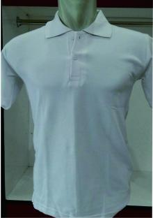 POLO SHIRT lacoste cotton Putih