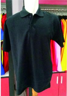 POLO SHIRT lacoste cotton Hitam